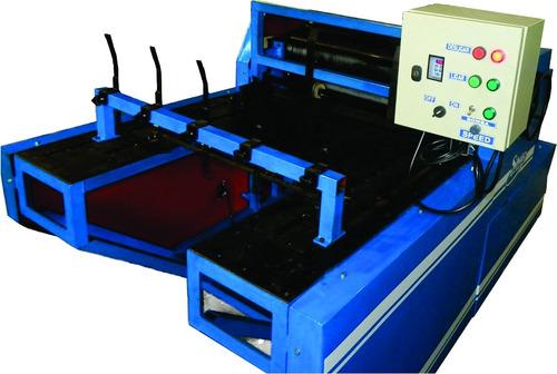 máquina flexográfica - impressão caixa de pizza