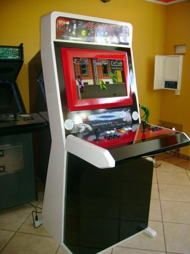 máquina fliperama multijogos 100% personalizados!