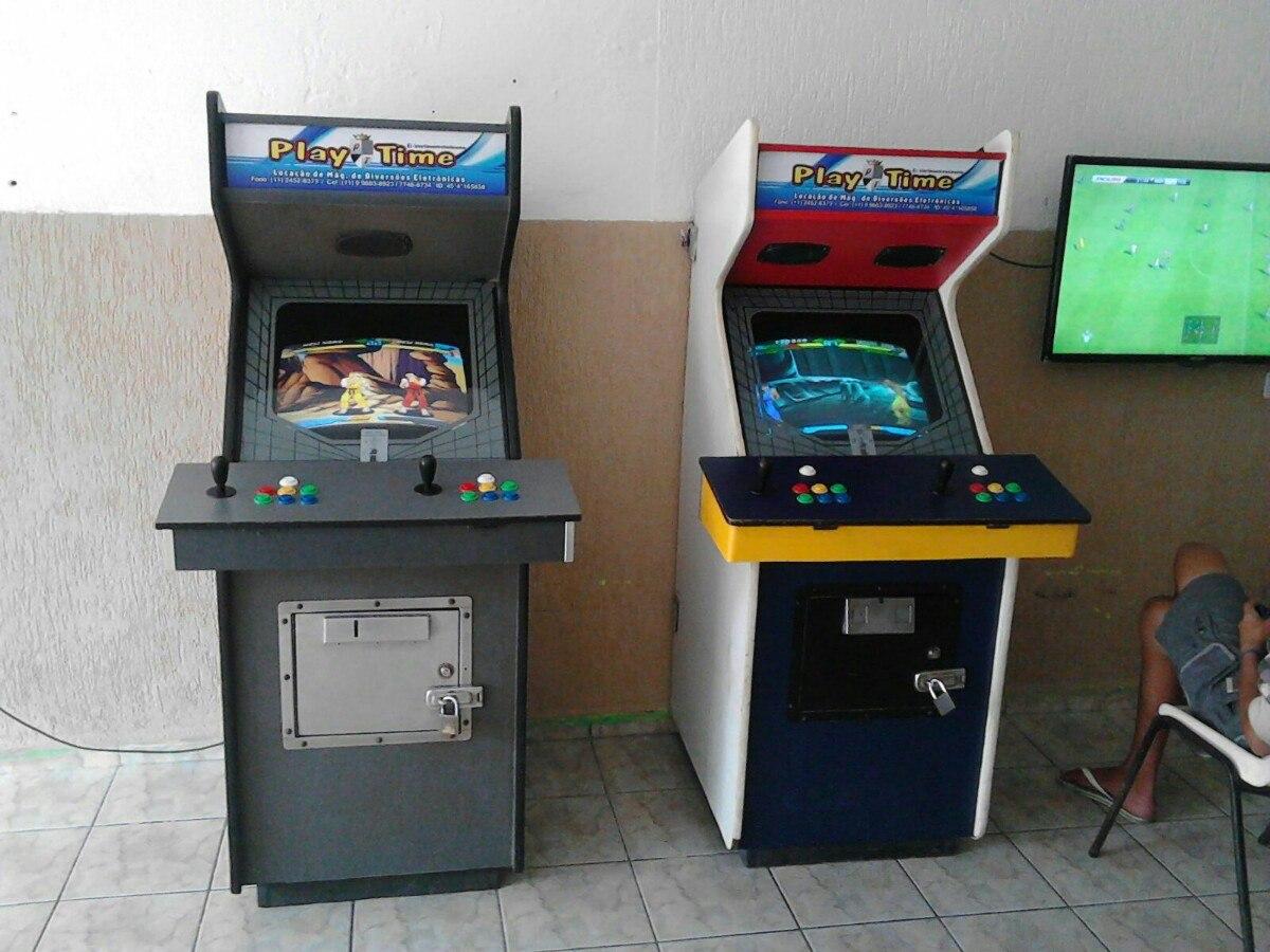 62e914111 Maquina Fliperama, Video Game Com 1000 Jogos - R$ 1.400,00 em ...