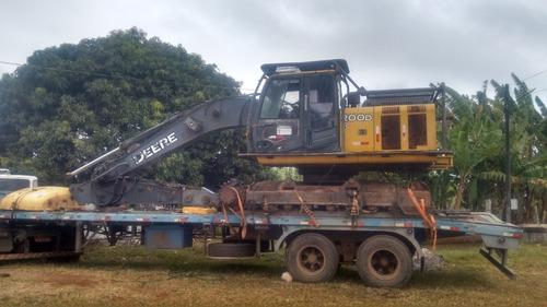 máquina florestal escavadeira
