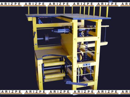 maquina forjadora de pedal - escobas trapeadores espiga hilo