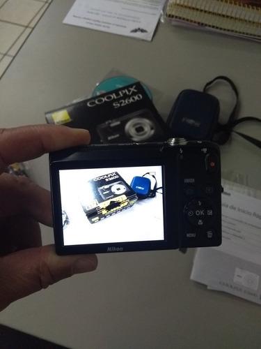 maquina fotografia nikon coolpix s2600 (funcionando)