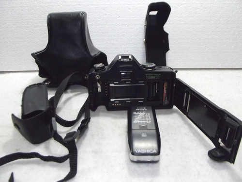 maquina fotografica analogica yashica 108 completa com flash