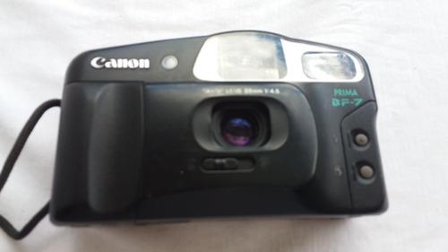 maquina fotográfica antiga canon prima bf7 - aj
