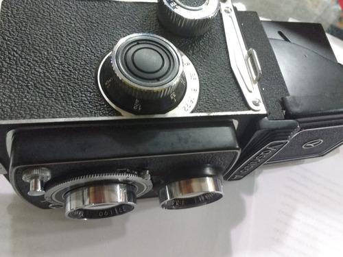 máquina fotográfica camera yashica - a de 1959 rara