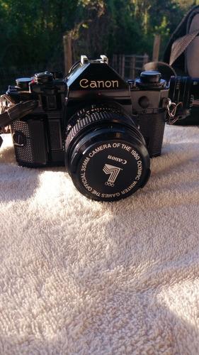 maquina fotografica de rolo canon a1 completissima