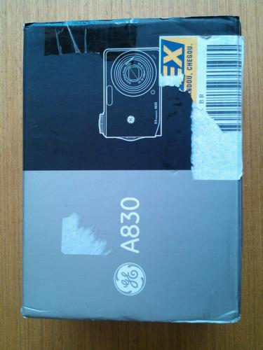 maquina fotografica digital ge a830 tirar peças ou concerto!