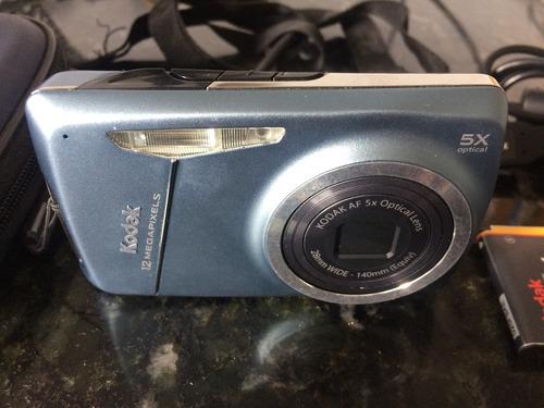 máquina fotográfica kodak 12mp easyshare m550