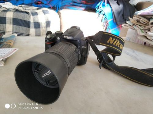 maquina fotográfica nikon d5000
