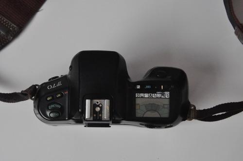 máquina fotográfica nikon f70 + 3 lentes