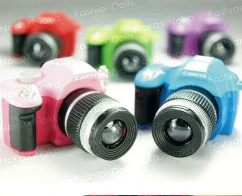 maquina fotografica para blythe pullip dal * com luz e som