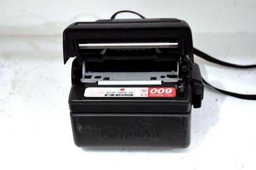 maquina fotografica polaroid antiga