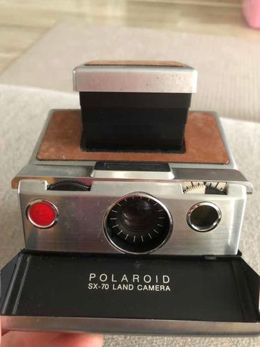 máquina fotográfica polaroid sx 70 antiga dec 1970