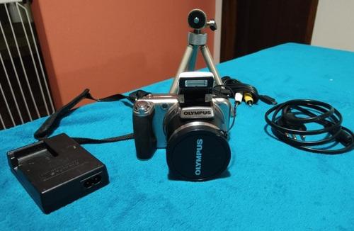 maquina fotografica semi profissional olympkus. mod sp - 800