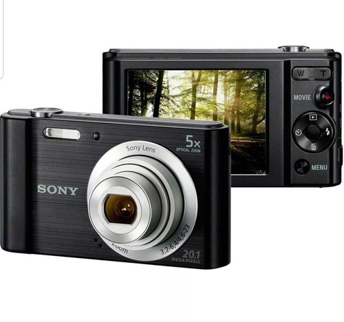 máquina fotográfica sony w800 cyber shot 20.1 mega pixel