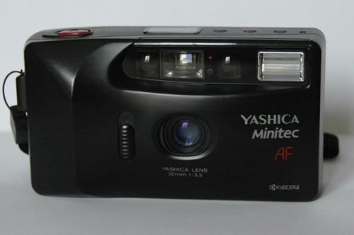 máquina fotografica yashica minitec af