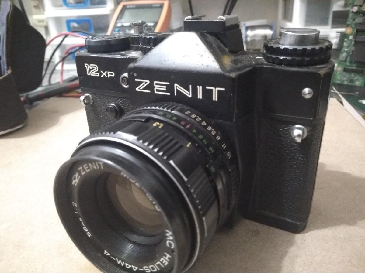 727cb7a0c Máquina Fotográfica Zenit 12 Xp Com Capa - R  190