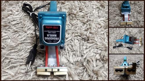 maquina frisador de chinelos e artesanato