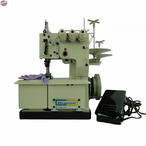 máquina galoneira portátil bracob- feita no brasil 3 agulhas
