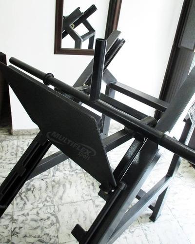 maquina gimnasio prensa 45 grados