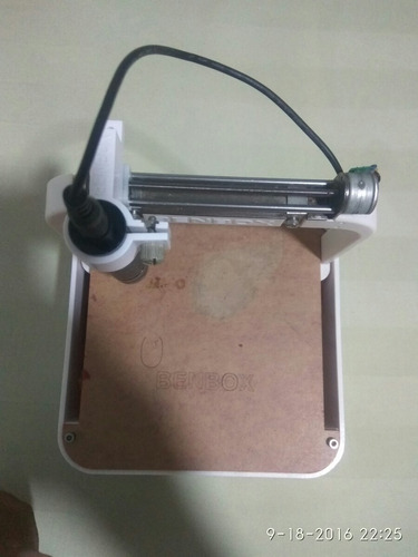 maquina grabadora laser benbox 500mw original 8x8cm