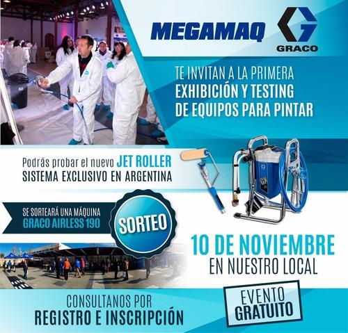 maquina graco 390 airless - latex / sinteticos uso intensivo
