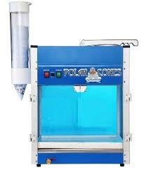 máquina granizados, industrial, 500 lbs/hora. palomitas.