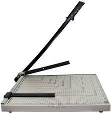 maquina guillotina a4 metalica cortador de papel