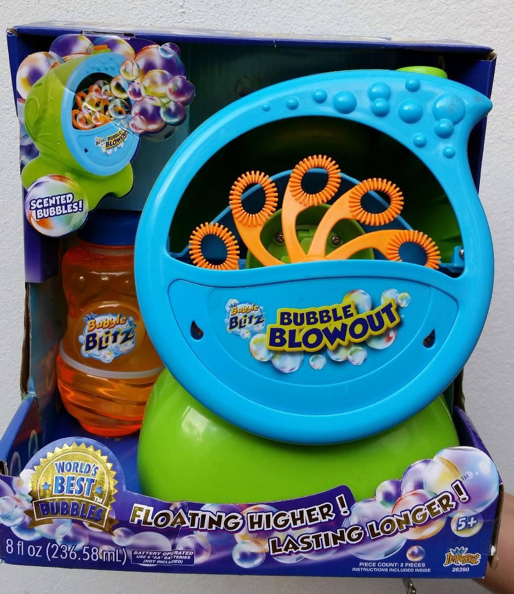 Maquina Hace Burbujas Bubble Blowout Bubble Blitz 130000 En
