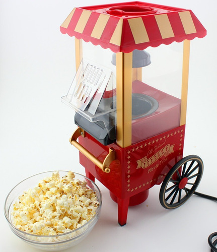 maquina hacer canchita pop corn maker rueditas