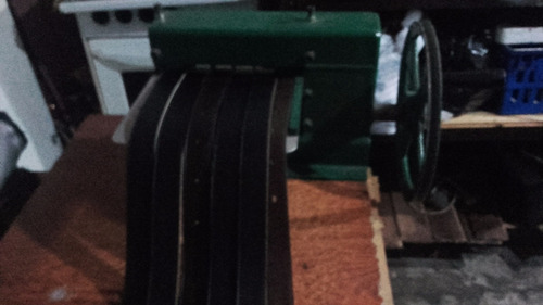 maquina hacer cinturones de cuero