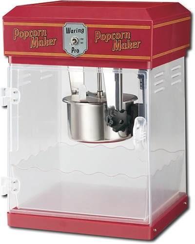 máquina hacer palomitas de maíz profesional waring pro -