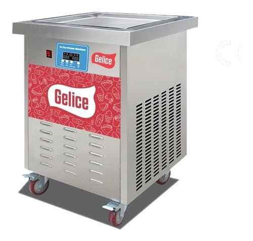 maquina helado frito gelice plancha cuadrada digital