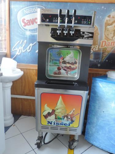 maquina helado soft nissei