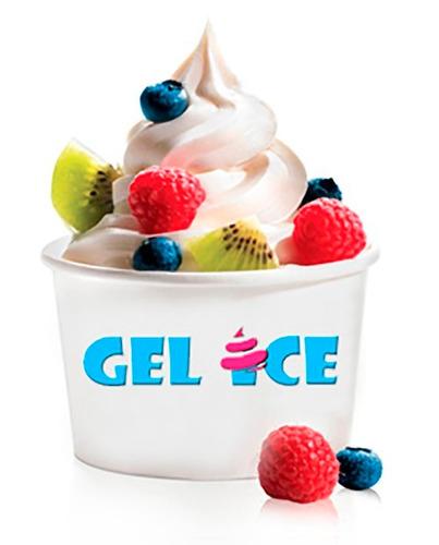 maquina helado suave frozen yogurt nieve de chorro gelice