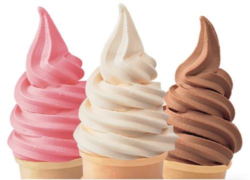 maquina helado suave yogurt nieve chorro economica compacta