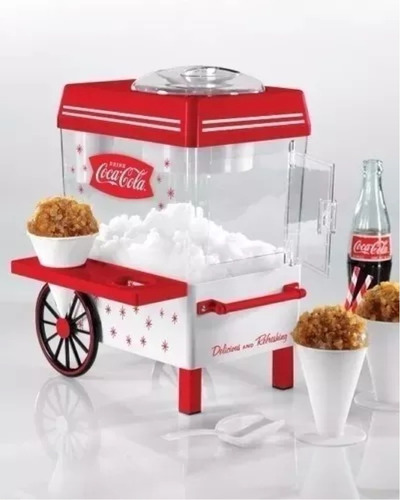 maquina helados granizados raspados nostalgia coca cola