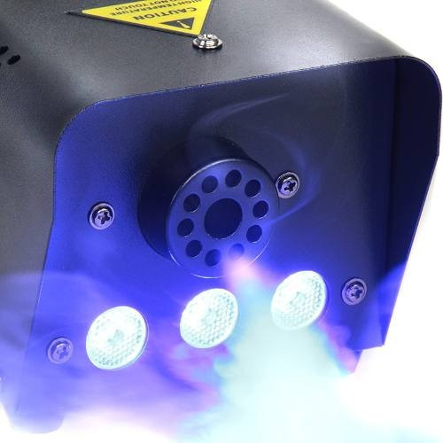 maquina humo twister 300ml luz led disco dj efectos regalo