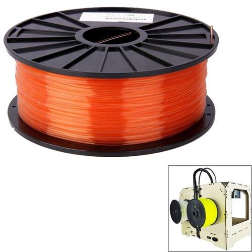 maquina impresion 3d consumible pla 3,0 naranja