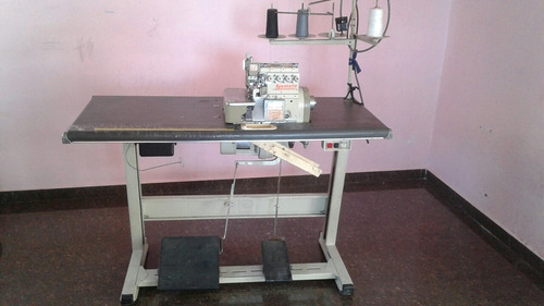 maquina industrial de costura yamata de 5 hilos