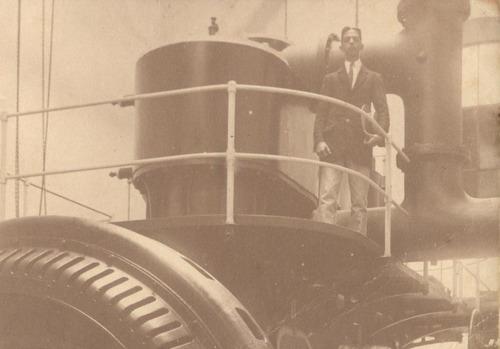 máquina industrial - industrialização - rio de janeiro 1912