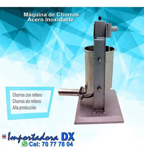 maquina industrial para hacer churros
