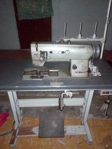maquina industrial puntada doble marca brother lt2-b832-3