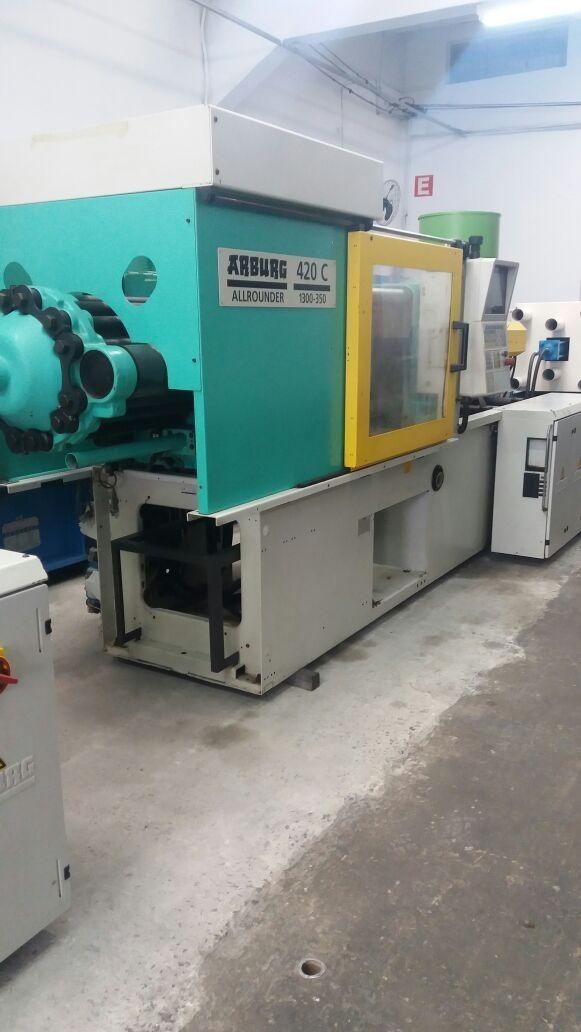Máquina Injetora Arburg 130 Ton