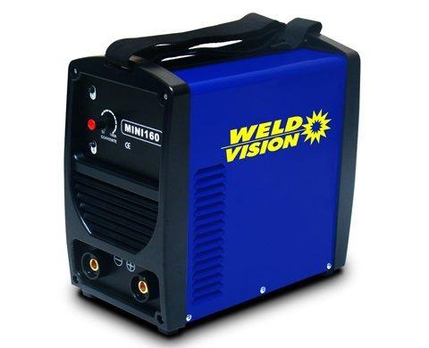 máquina inversora de solda mini 160 monofásica weld vision