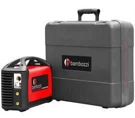 maquina inversora solda wmi 140 ed com maleta bambozzi 220v