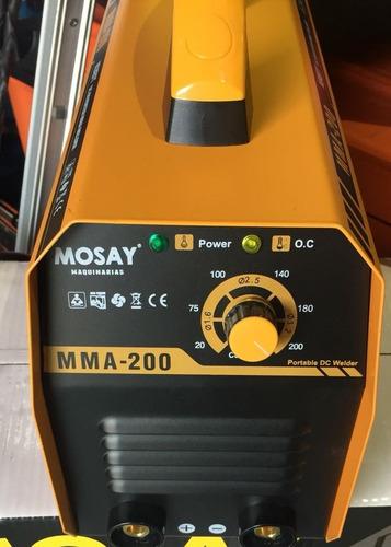 máquina inverter soldar soldadora  200 amp.