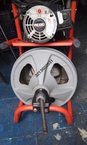 máquina k50 ridgid y repuestos