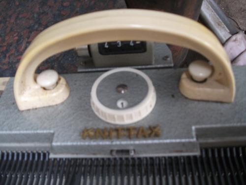 maquina knitax de tejer