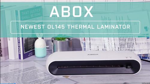 maquina laminadora abox a4 ol145 maquina laminadora termica